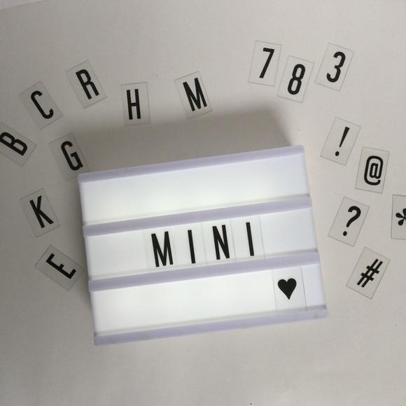 **SOLD** Mini Cinema Lightbox